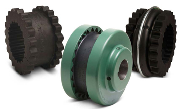 Flexible sleeves couplings